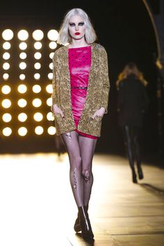 Saint Laurent Ready To Wear Fall Winter 2015 Paris