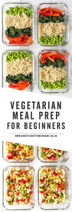 Make lunchtime exciting once again with my practical, step-by-step guide to Vegetarian Meal Prep. Two fool-proof techniques you can use no matter how busy you are and lots of recipes to help you get started.
