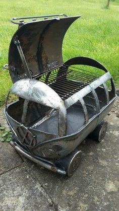 Busbecue BBQ grill