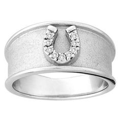 Kelly Herd Wide Horseshoe Ring 6: K&C WESTERN/ENGLISH JEWELRY #Horse #Horses #Pets #Equestrian #Rider