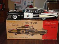 Metal Toys, Tin Toys, Vintage Toys 1960s, Vintage Cars, Retro Robot, Vintage Classics, Toy Trucks, Childhood Toys, Trucks For Sale