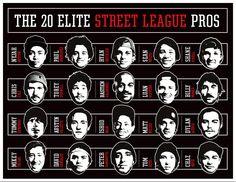 2013's #streetleague competitors