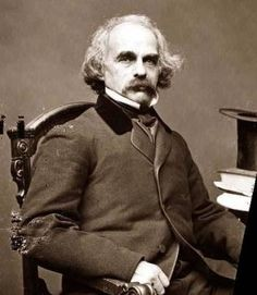 Nathaniel Hawthorne.  According to the paintings I've seen, he was quite handsome when he was young.