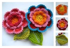 Here's the link to the tutorial >> How to Make Triple Layer Flower <<…