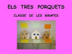 Més: projecte ELS TRES PORQUETS (conte representat pels alumnes) - Escola Lacustària LLAGOSTERA