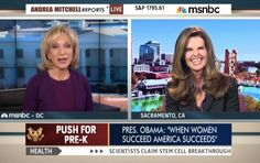 Andrea Mitchell Urges NBC 'Journalist' Maria Shriver to 'Take a Bow' for Inspiring Obama's 'Equal Pay' Crusade | NewsBusters