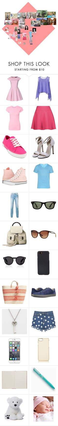 """Familie en house"" by jadehupkes ❤ liked on Polyvore featuring Ter Et Bantine, Issey Miyake Cauliflower, RED Valentino, Lauren Ralph Lauren, Converse, Orlebar Brown, 3x1, Ray-Ban, Gucci and RALPH"