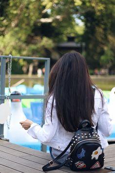 long hair   Sandra Bendre