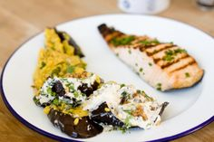 Lunch with Ottolenghi On the blog: http://www.thefashioncloud.com/a-table/