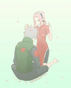 Imagen de kakashi, sakura, and hatake