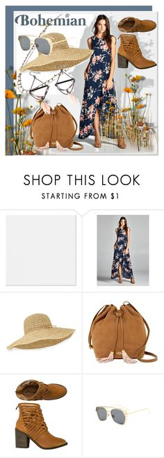 """Bohemian summer"" by dmg555 ❤ liked on Polyvore featuring Helen Kaminski, UGG and Free People"