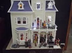 Image result for shabby chic dollhouse