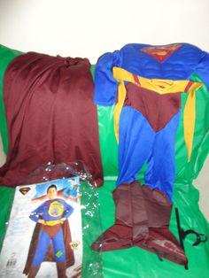 Superman DC Rubie's Child Costume Superman Returns S 4-6 ages 3-4 #882302  find me at www.dandeepop.com