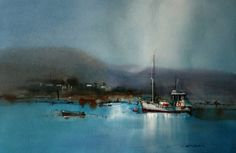 John Lovett is a well known Australian artist working in watercolor and mixed media. His unique interpretation of his subject has a vitality that is enhanced by his use of light, vibrant color and strong sense of design.  John's passion for his work and his open, easy approach to teaching make his books, DVD's and workshops thoroughly enjoyable, extremely informative and always very popular. He regularly conducts workshops in Europe, USA and Australia. www.johnlovett.com