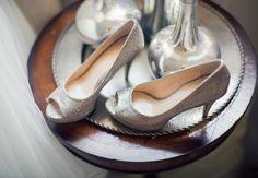 Silver bridal shoes  // Photography: Betsi Ewing Studio