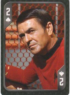 Star Trek - Montgomery Scott - 2 of Spades...
