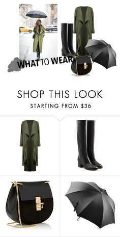 """""""what to wear"""" by itgirl91 on Polyvore featuring Boohoo, Sergio Rossi, Chloé e Alexander McQueen"""