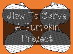 This is a quick/fun Halloween/Fall writing project to practice using transition words with your students! How it works:1. Have students get out notebook paper to take notes.2. Carve a pumpkin in front of your students  while youre carving, have students        list steps in order of what you are doing.3.