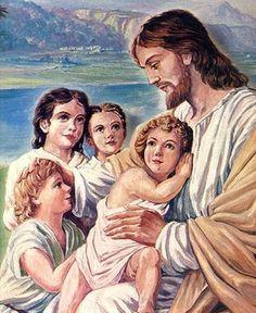 NIÑOS CON JESUS