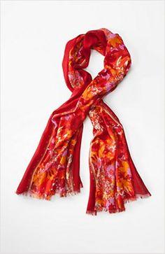 winter garden scarf