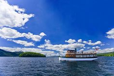 """Take a ride on Lake George at the Sagamore Resort. We had a dinner cruise on this boat named """" The Morgan """" Lake George Resorts, Lake George Village, Summer Vacation Spots, Fun Winter Activities, Girls Getaway, Weekends Away, Lake Life, Vacation Destinations, Vacations"""