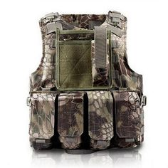 Tactical Multi Pocket Vest