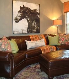 Spaces Brown And Orange Design, Pictures, Remodel, Decor and Ideas - page 7