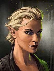 Elf Female Shadowrunners  Portraits from Shadowrun Returns and Shadowrun Dragonfall. Shadowrun Portrait Posts