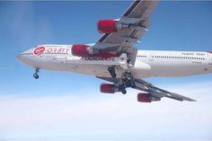 Video Shows Virgin Orbit's 'Cosmic Girl' Boeing 747 Strapped to LauncherOne Assemblies Of God, Space Tourism, Jumbo Jet, Planetary Science, Virgin Atlantic, Space Rocket, Richard Branson, Cosmic Girls, Remote Sensing