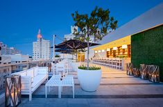 Rooftop at the Gale South Beach