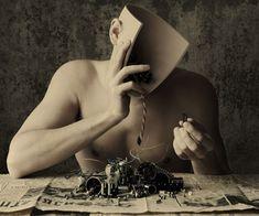 Arte abstracto en caras humanas | Rincón Abstracto