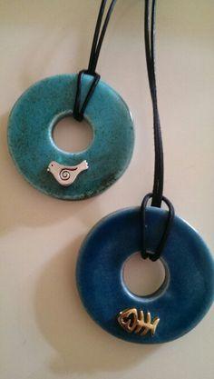 My ceramic pendants/Özlem Menekay  2015