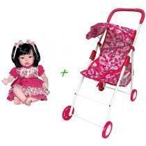Carrinho de Boneca Ana Bela Colorido Bee Me Toys + Boneca Baby Kiss Baby Strollers, Children, Activity Toys, Belle, Baby Prams, Young Children, Boys, Kids, Prams