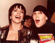 Liza Minnelli and Kay Thompson (taken in the '70s)