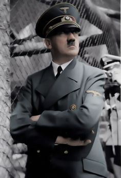 Adolf Hitler is likely to have been descended from both Jews and Africans, according to DNA tests. Samples taken from relatives of the Nazi leader show that he is biologically linked to the 'sub-human' races he sought to exterminate. Hitler was Jewish. Nagasaki, Hiroshima, Fukushima, World History, World War Ii, The Third Reich, Interesting History, Steve Jobs, Historical Photos