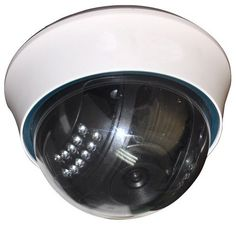 Wireless Dome MJEPG IP Network Camera with Night Vison (iPhone Compatible)