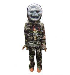 Costum Halloween baieti mumie cu masca model 1