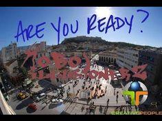 HoboillusionerZ Make you smile! Our first Flashmob in Monastiraki Domain Hosting, Greece Travel, Tour Guide, Make You Smile, Athens, Paris Skyline, Tours, World, Creative People