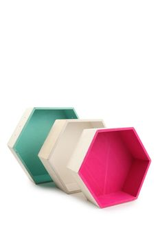 stacked hexe shadow boxes | Cotton On
