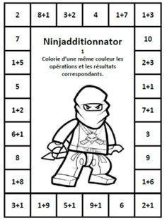 Additions - Dix mois Plus Math Lesson Plans, Math Lessons, Math Worksheets, Math Activities, Math Tables, Daily 5 Math, Montessori Math, Learn To Count, Math Addition
