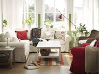Living Room Furniture - Sofas, Coffee Tables & Inspiration - IKEA... Great for our basement