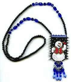Designed Deb Moffett-Hall and made by me. Seed Bead Earrings, Beaded Earrings, Seed Beads, Beaded Jewelry, Beaded Christmas Ornaments, Christmas Jewelry, Xmas Ideas, Fun Ideas, Beaded Banners