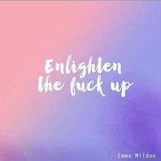 ✌️ Yeah, yeah enlightenment! ✌️ Thanks for this one @emma.mildon #yoganonymous