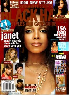 Magazine photos featuring Janet Jackson on the cover. Janet Jackson magazine cover photos, back issues and newstand editions. Haircuts For Over 60, Over 60 Hairstyles, Short Black Hairstyles, Retro Hairstyles, Haircuts For Thin Fine Hair, Round Face Haircuts, Haircuts For Men, Black Hair Magazine, Magazine Pictures