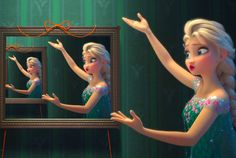Elsa with the mirror 3.0
