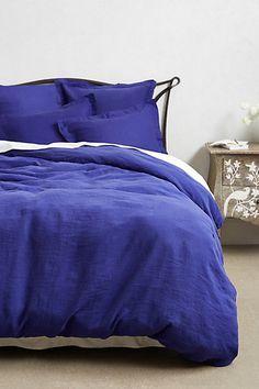 Soft-Washed Linen Duvet $288, just for the duvet alone