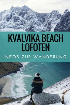 Kvalvika Beach: Per Wanderung zum schönsten Strand der Lofoten
