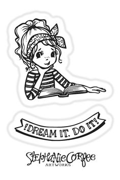 Dream Stamp Set by justatraceco on Etsy