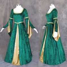 medieval wedding dresses in Clothing,