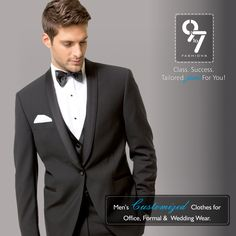 Men's Customized Clothes for Office, Formal & Wedding wear. Tailored just For You! Call: 8080 927 927 ‪#‎Weddingwear‬ ‪#‎Formalwear‬ ‪#‎Menswear‬ ‪#‎Suits‬ ‪#‎Mumbai‬ ‪#‎Chembur‬ visit us http://www.9to7fashions.com/